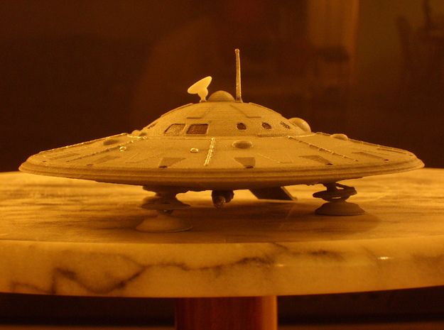 Dino-Hunter-Kit (5 inch diameter) 3d printed Dino Hunter UFO 5 inch Dia.