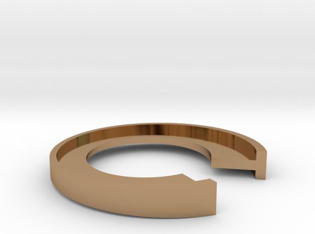 T Letter Ring