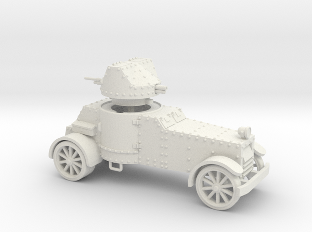 White Armoured Car (15mm)