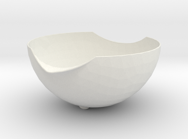 Bowl-to-stack in White Strong & Flexible