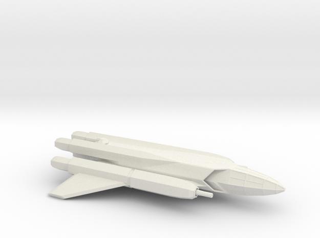 Artemis-Class Long Range Reconaissance Figher in White Strong & Flexible
