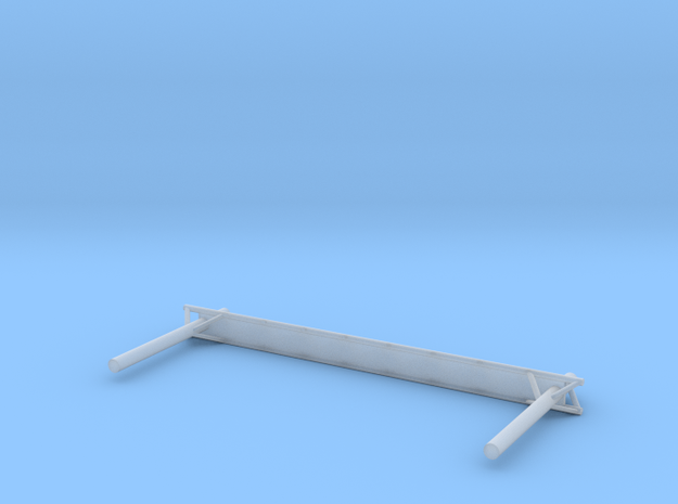 T Gauge Gantry Rack With Lights Leeds -06 in Smooth Fine Detail Plastic