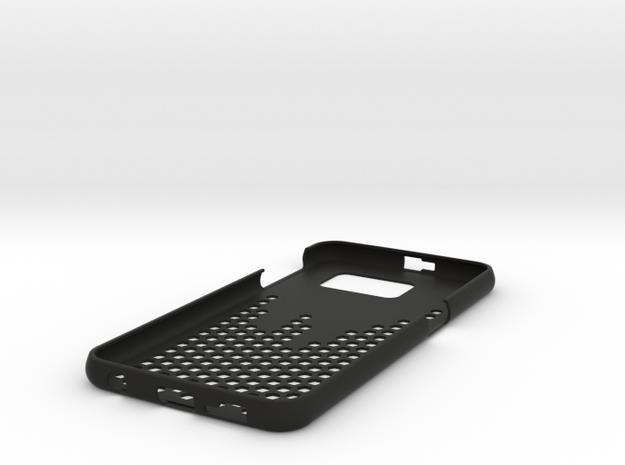 Galaxy S6 Hexagon case in Black Strong & Flexible