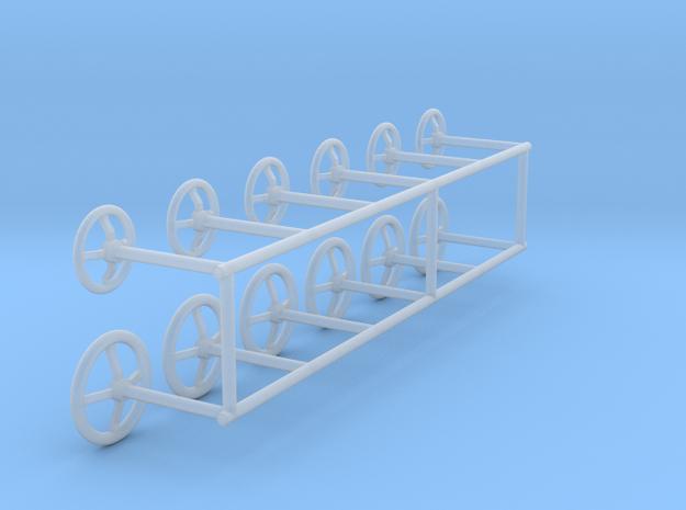 Handwheels 1:50 in Smooth Fine Detail Plastic