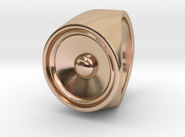 Screaming Sister - Signet Ring  3d printed