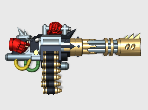 4x Chaos: RipCannon in Frosted Ultra Detail