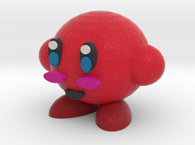 Red Kirby in Full Color Sandstone