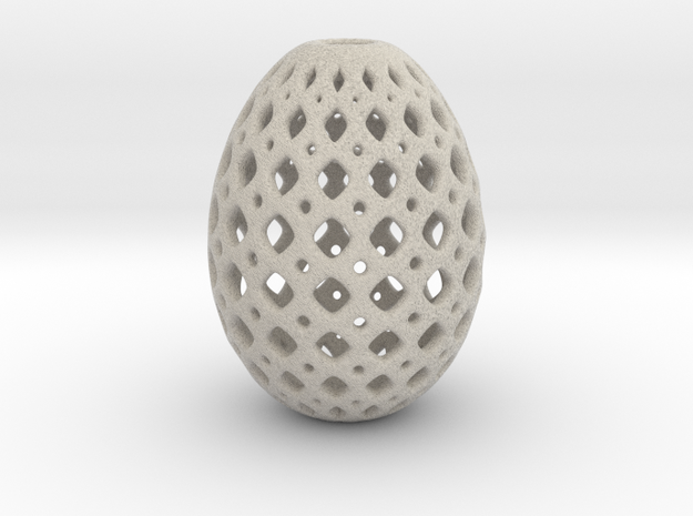 Designer Egg 16 Smooth 1 in Natural Sandstone