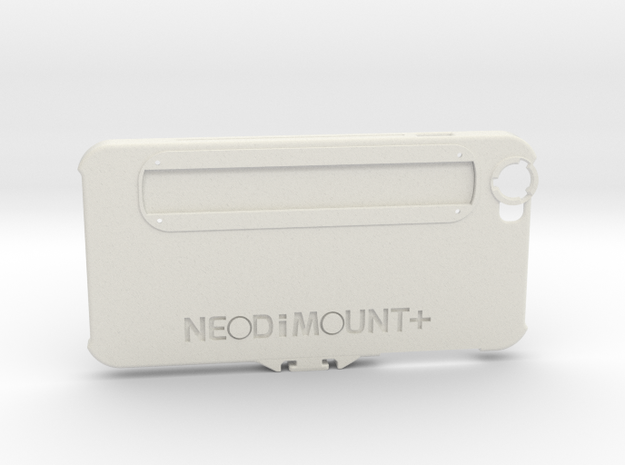 NEODiMOUNT+ iPhone 6s or 7 Plus (V2) Reference Des in White Strong & Flexible