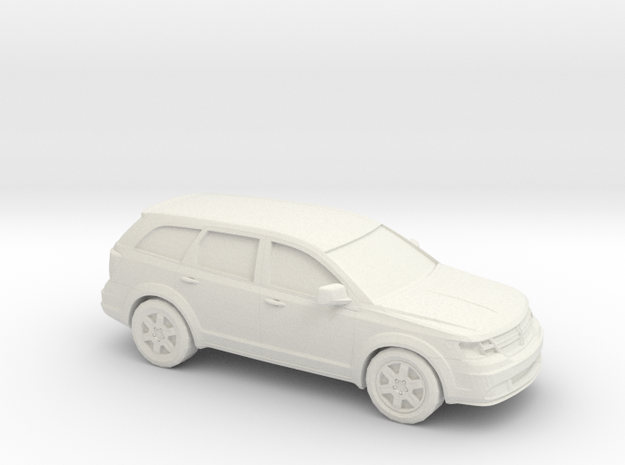 1/43 2009 Dodge Journey in White Strong & Flexible