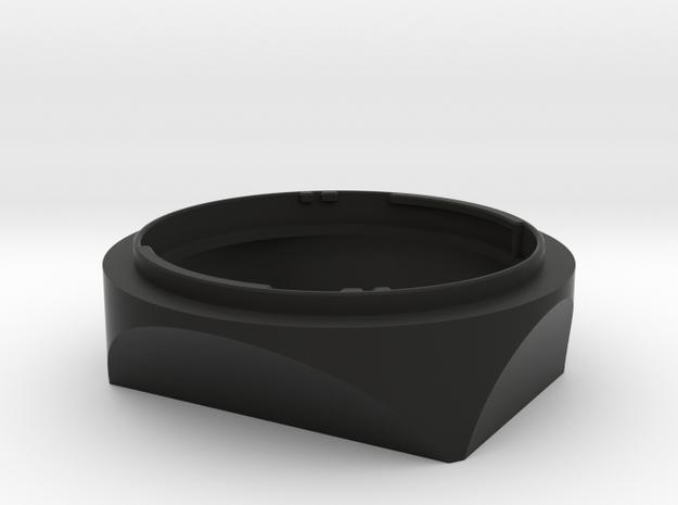 FE55 Hood v0.4 - BETA in Black Natural Versatile Plastic