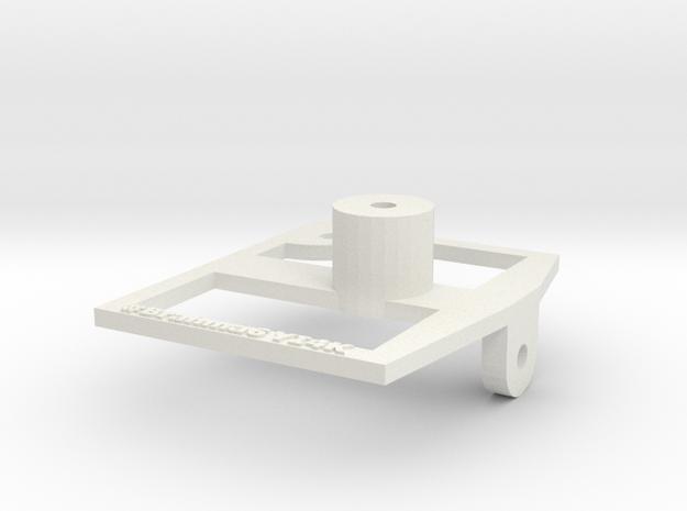 Yi4k Adaptor in White Natural Versatile Plastic