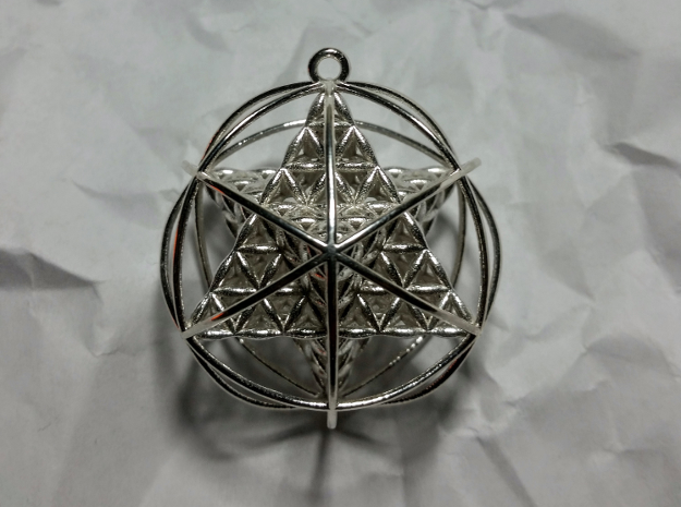 Flower of Life Planetary Merkaba