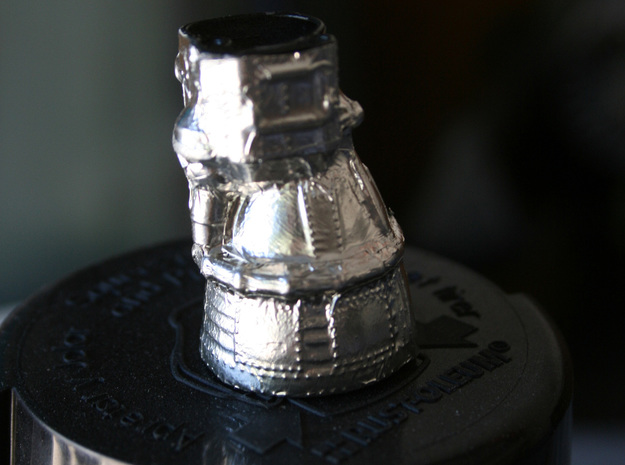 F1 Engine Batted 1:200 3d printed