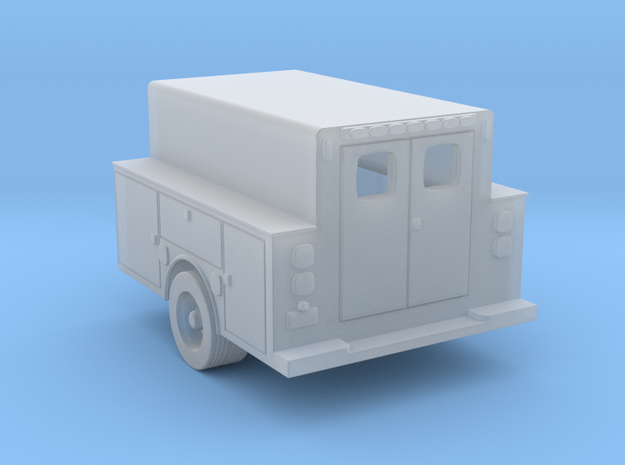 Pickup Truck Work Bed 1-87 HO Scale