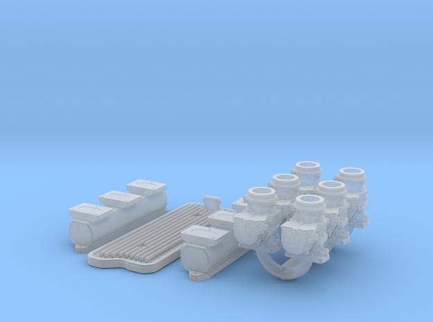 1/12 6X2 Buick Nailhead Intake System 3d printed
