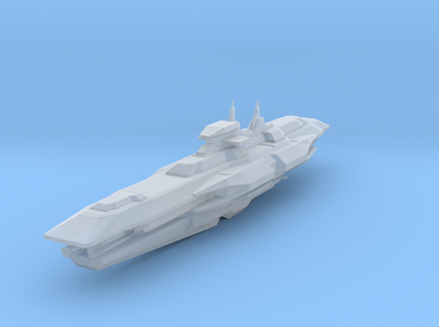 Araan Dynasty Battleship in Smooth Fine Detail Plastic