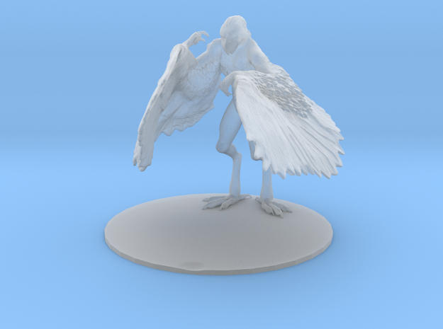 Aarakocra Miniature in Frosted Extreme Detail: 1:60.96