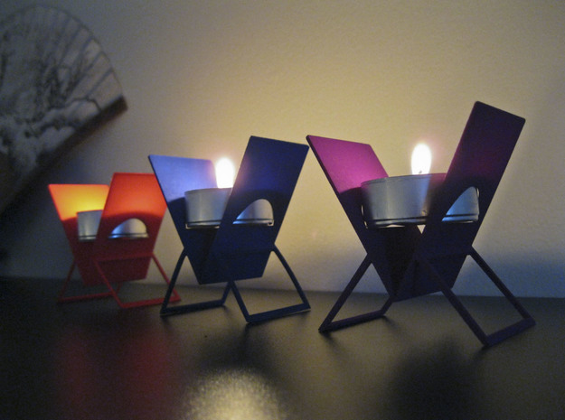 Tealight Easel 3d printed