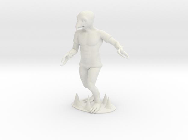 Crabman Miniature in White Natural Versatile Plastic: 1:60.96