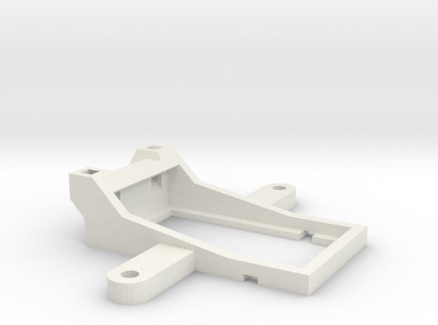 Receiver Holder V8FR-II for TBS Disovery in White Natural Versatile Plastic