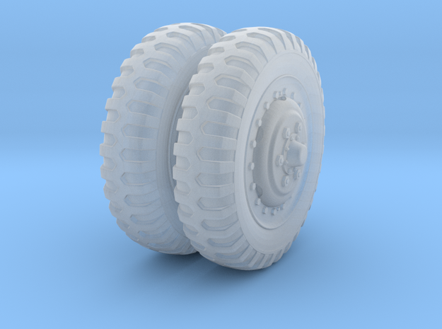 1/48 US Halftrack front wheel tyre NDT in Smoothest Fine Detail Plastic