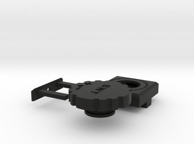M4 external Hop Adjuster  in Black Strong & Flexible
