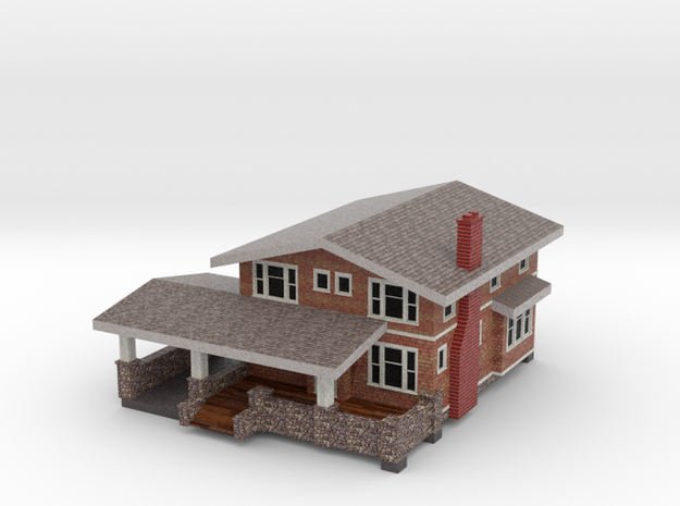 Sears Shadowlawn House - Zscale in Full Color Sandstone