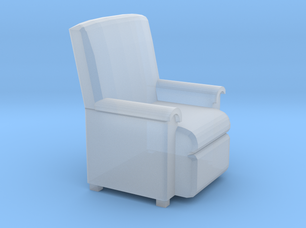 HO Sofa Seat in Smooth Fine Detail Plastic