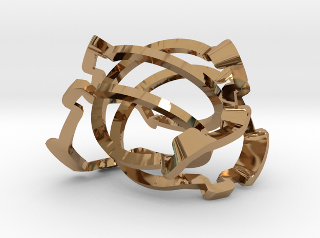 Holistic Ring interlocking metal