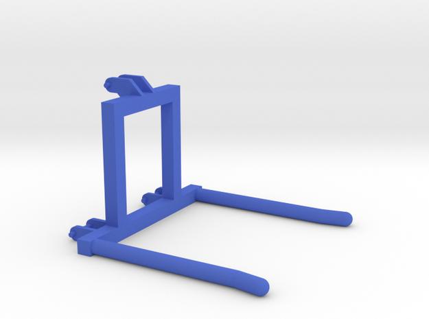 Single Bale Transporter 1/32 in Blue Processed Versatile Plastic