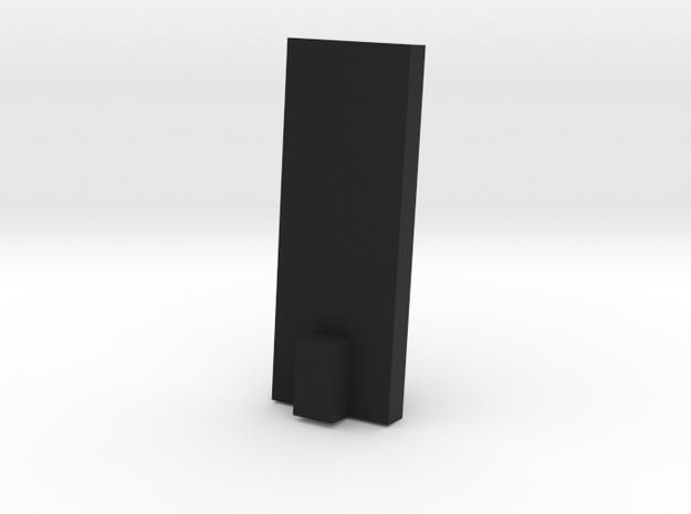 1:17 scale 32Lb Carronade -Base in Black Natural Versatile Plastic