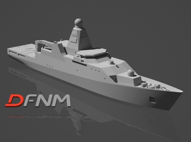 Holland Class OPV in White Strong & Flexible: 1:700