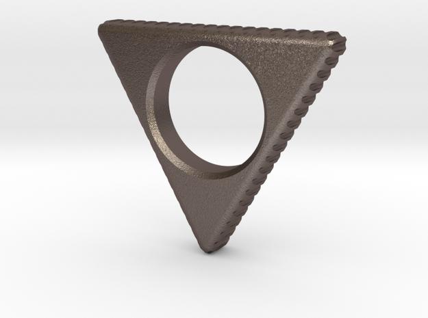 EDC Triangle Spinner V1 in Stainless Steel