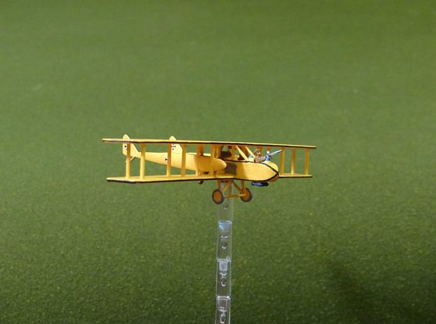 "AGO C.I ""Bomber"" 1:144th Scale in White Natural Versatile Plastic"