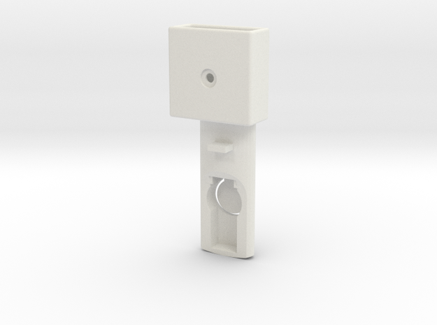 Baby cradle adapter for Quinny Buzz (left) in White Strong & Flexible