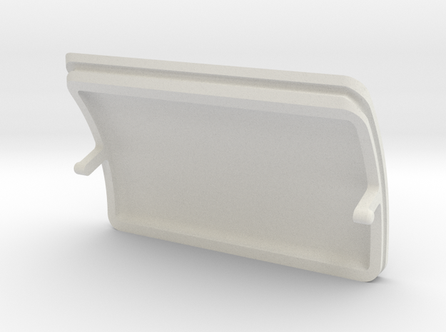 GND CONTROL PORT COVER in White Strong & Flexible