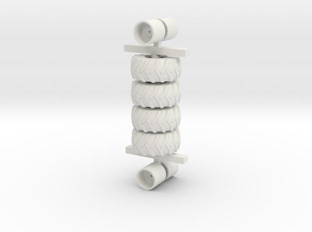 30.5-32 4 Pack in White Natural Versatile Plastic