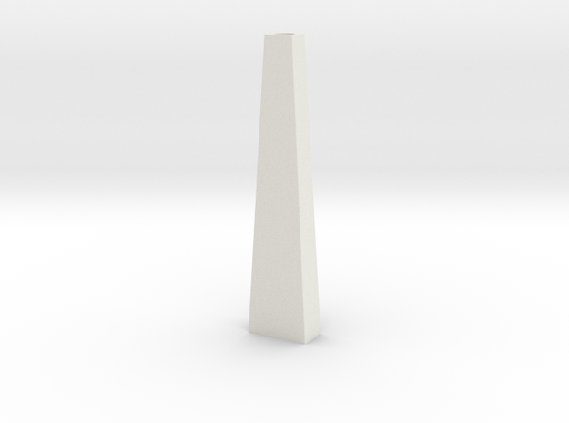 Pylon Wdw Single 10mm (HO) in White Natural Versatile Plastic