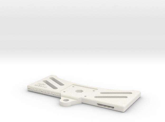 Main Plate - Dji Mavic Tablet Holder Adaptor in White Natural Versatile Plastic