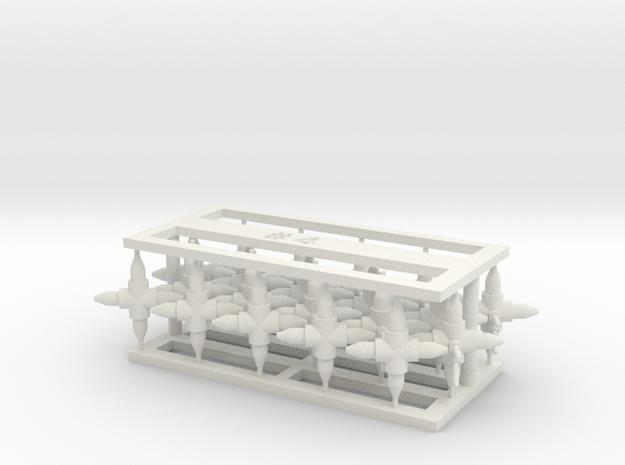 MOF Connector04 (20) in White Natural Versatile Plastic