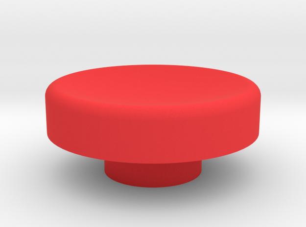 FIDGET SPINNER BUTTON FEMALE in Red Processed Versatile Plastic