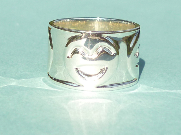 Emotion Ring (Size 7) in Premium Silver
