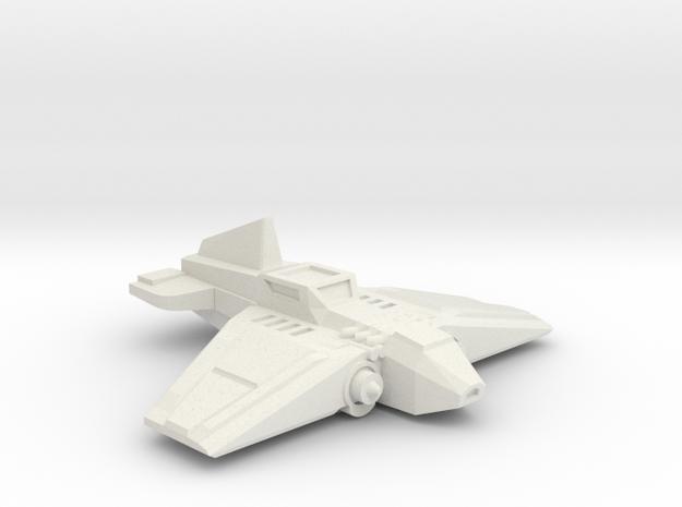 Warthog Ground Attack Fighter in White Natural Versatile Plastic