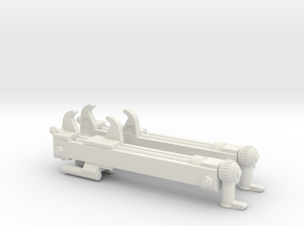 41-F-2995-280 TRACK TENSIONING FIXTURE 1-6th SCALE in White Natural Versatile Plastic