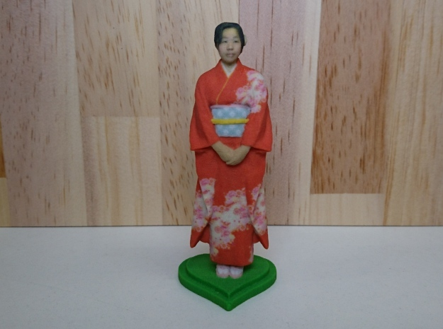 Japanese-Kimono-100mm in Full Color Sandstone: Small
