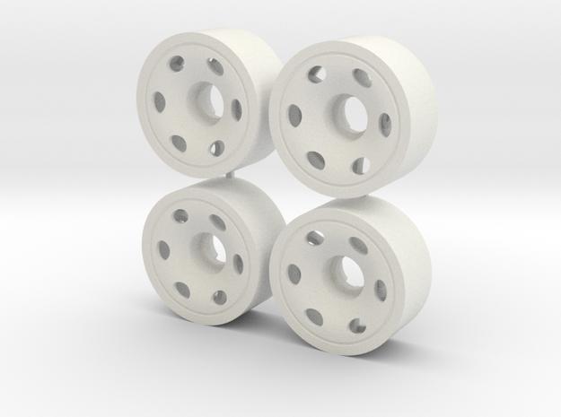 MINI Z FRONT 190 +00 in White Natural Versatile Plastic