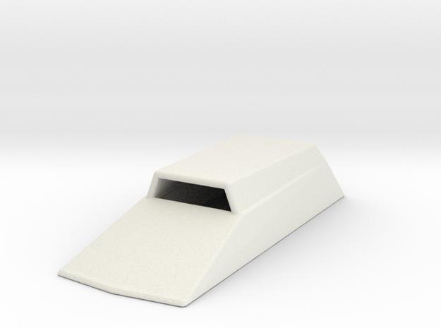 Hood Scoop V2 1/24 in White Natural Versatile Plastic