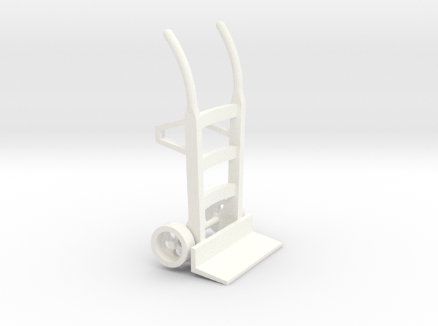 Sackkarre Holz Spur2 in White Strong & Flexible Polished