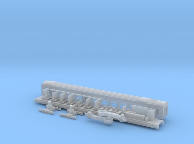 Transalpin Buffetwagen001 Scale TT in Smooth Fine Detail Plastic